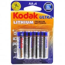 Galvaninis elementas Kodak LITHIUM LR6,AA,MN1500 1,5V(Sarmin. Alkaline)