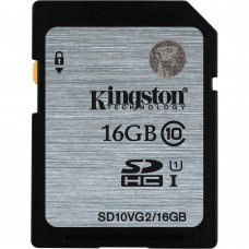 Atminties kortelė Kingston SDHC 16 GB C10