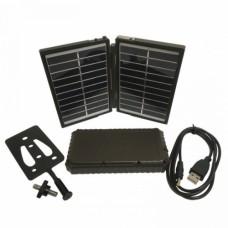 Mobilus saulės pakrovėjas su universalia nešiojama baterija