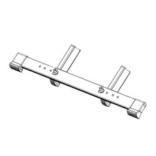 CROSS-BEAM (FOOT EXTENSION) 800MM, HYMER
