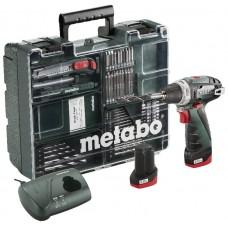 MOBILUS MEISTRO RINKINYS POWERMAXX BASIC, 63 PRIEDAI, METABO