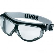 Apsauginiai akiniai Uvex Carbonvision, skaidri linzė, supravision extreme (nesibraižantys ir nerasojantys) padengimas, guminė juostelė.