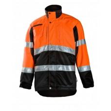 Miškininko švarkas Dimex 830 oranžinis/juodas M